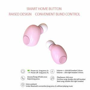 Image 2 - T8 TWS سماعات بلوتوث 2200 mAh قوة البنك عرض LED سماعات لاسلكية وردي أسود أبيض لون الجلد سماعات الأذن شحن مجاني