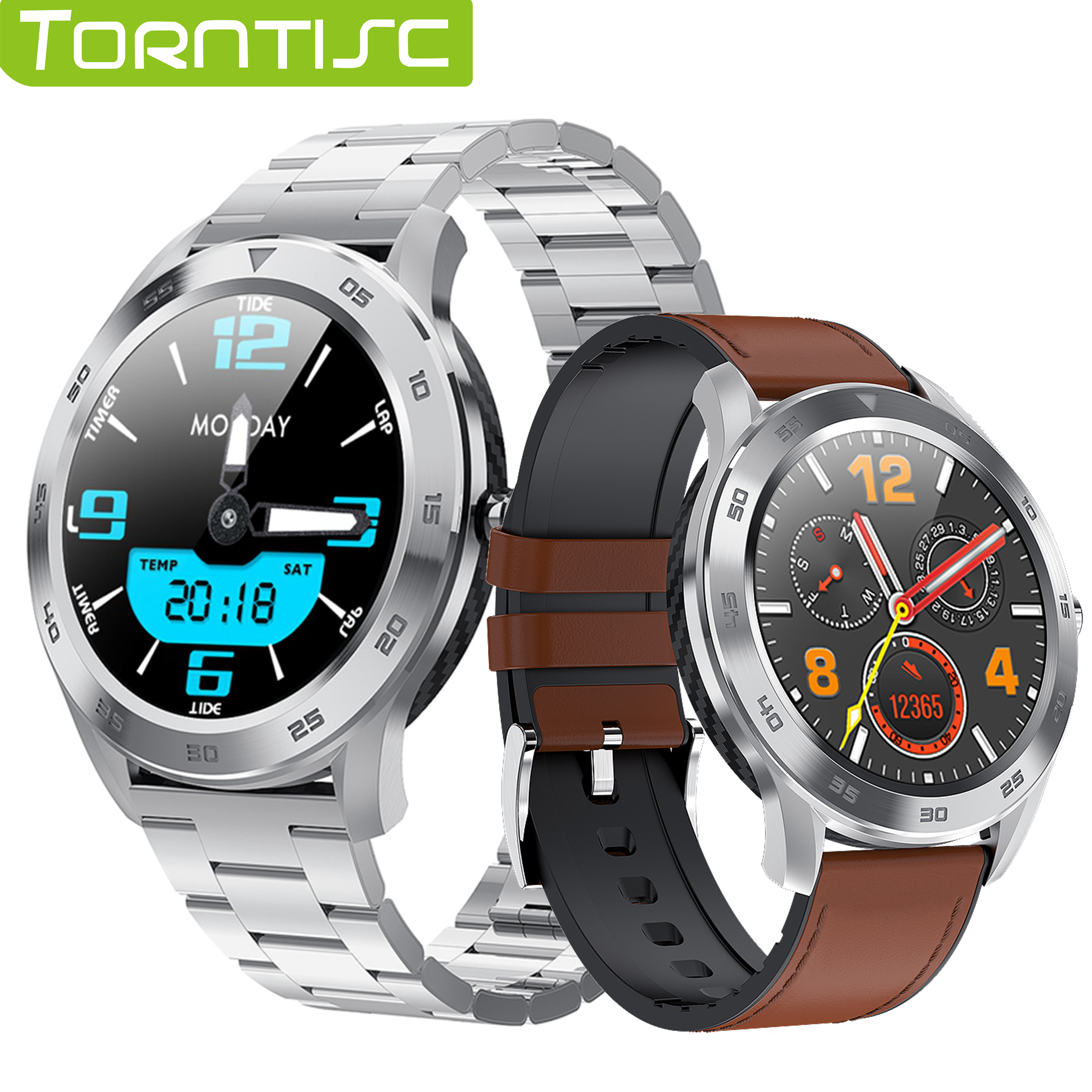 Torntisc DT98 Smart Watch Men Phone Call Dial ECG PPG Full Round Touch Screen Smartwatch Waterproof IP68 for Android IOS|Smart Watches| |  - AliExpress