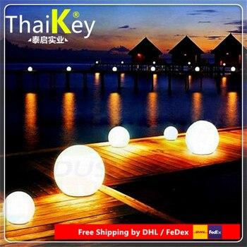 wedding colorful sphere decoration/ led outdoor floor lamp waterproof