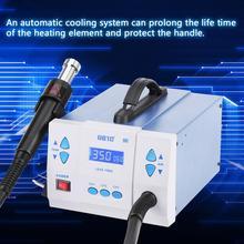 1000W 220V Hot Air Rework Station LED Heat Gun Blow Dryer for BGA IC Desoldering Tool estacion de soldadura Domestic Delivery
