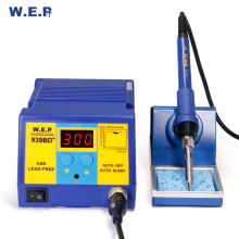 WEP 939BD Quick Heating  Digital Soldering Station With Soldering Iron Station DIY Kits Welding Tools