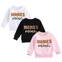 Toddler Autumn Baby Girl Boy Clothes Casual Sweatshirts Letter Print O-Neck Long Sleeve Pullover Hoodies Tops 0-3 Years