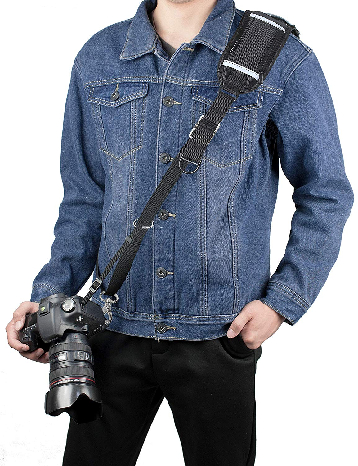Camera Strap Long Shoulder Neck Sling  Quick Release DSLR  For Canon Nikon Sony Mirrorless