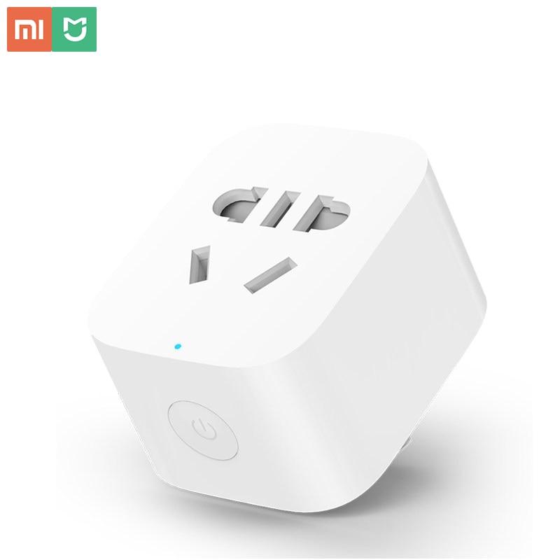 Original mi jia ZigBee Tomada Inteligente WiFi APP Sem Fio Interruptores de Controle Temporizador Plug para Xiao mi Android IOS trabalhar com mi casa App