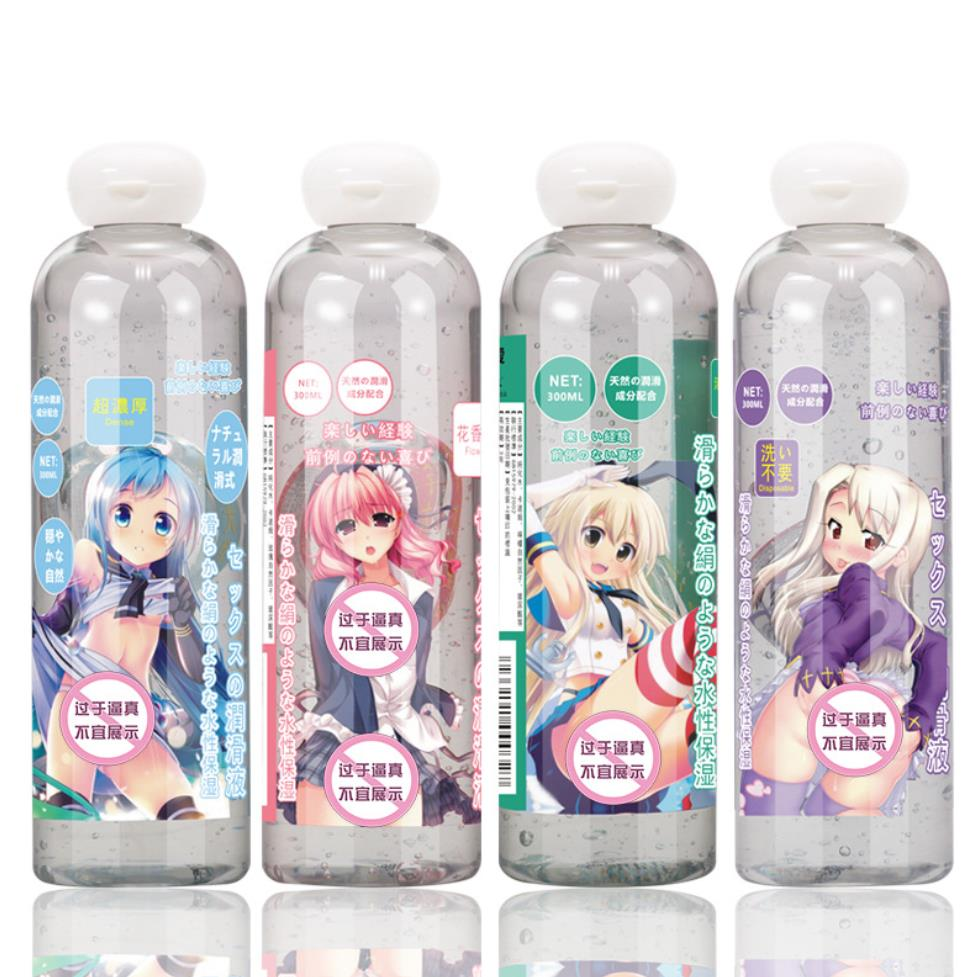 Japanese Anime Lubricante For Sex Lube Simulate Love Liquid Sex Lubricant For Oral Vagina Anal Sex 300ml Lubricants Flower Smell