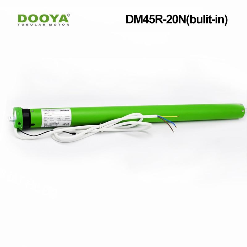 Dooya 45 Built-in 20Nm Tubular Motor Suitable For Smart Home System For Roller Blinds Zebra Shades DM45R-20N