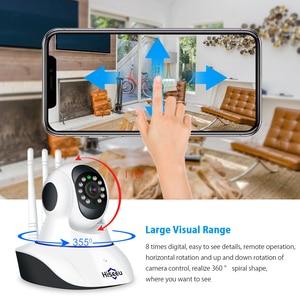 Image 2 - Hiseeu 1080P Wireless WIFI IP Camera HD 2MP Pan Tilt Two way Audio Night Vision Phone APP Control Motion Detection+ TF Card Slot