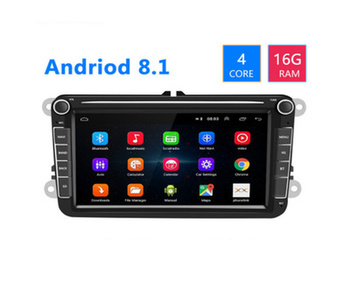 8 inch Android car navigator Multimedia Player Autoradio For VW/Volkswagen/Golf/Passat/SEAT/Skoda/Polo car Stereo image