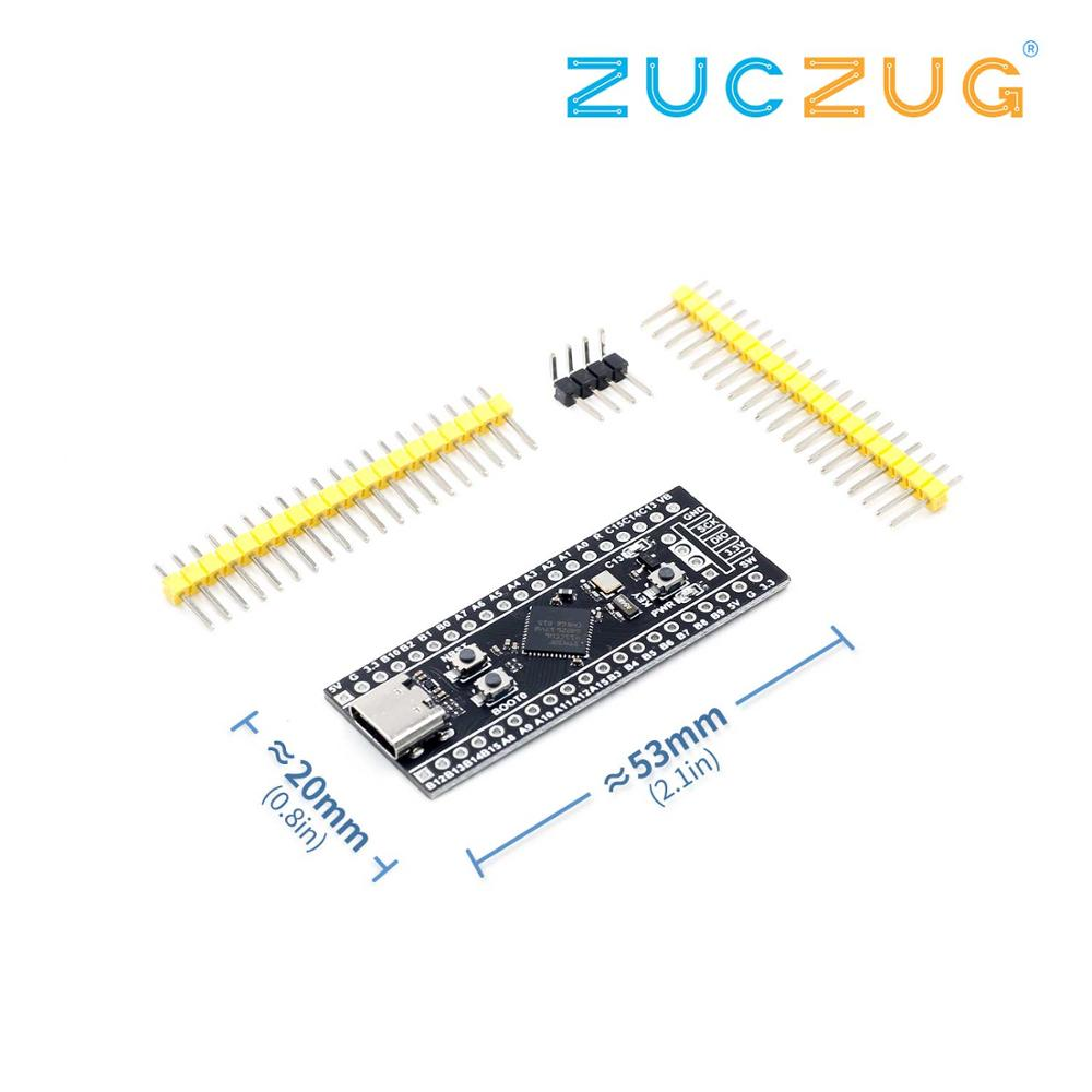 Image 4 - STM32F401 Development Board STM32F401CCU6 STM32F411CEU6 STM32F4 Learning Board-in Integrated Circuits from Electronic Components & Supplies
