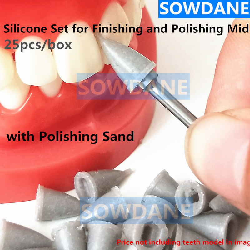 Dental Silicone Set For Finishing And Polishing Composite Restorations Temporary Midi  Crown Removal 2.35mm Dental Material