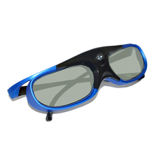 2Pcs Active Shutter Rechargeable 3D Dlp Glasses Support 144Hz for Xgimi Z3/Z4/Z6/H1/H2 Nuts G1/P2 Benq Acer &Dlp Link Projector цена