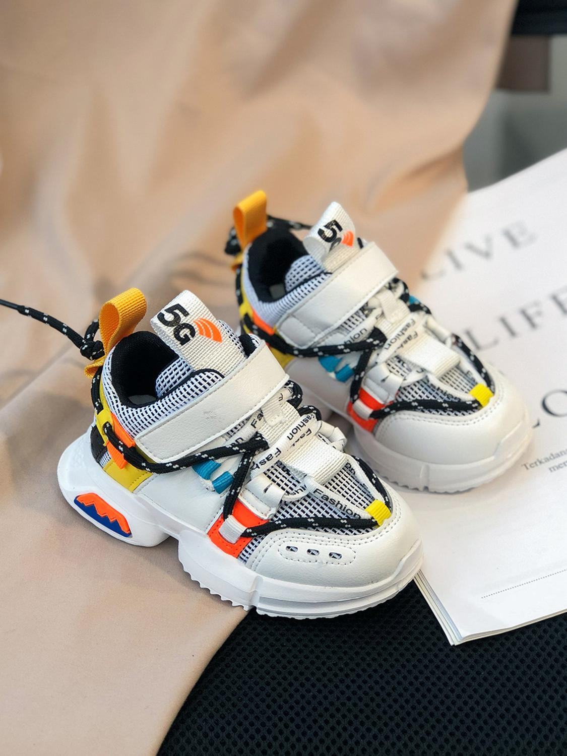 Tennis Kids Shoes Boys Sneakers Soft-Sole Toddler Girls Fashion Breathable Spring/autumn