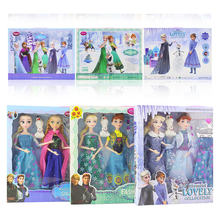 Disney Frozen 2 Doll Dress Frozen Snow Queen Princess Dolls Toy Fashion Casual Wear Handmade Cloth Outfits-Accessories Best DIY(China)