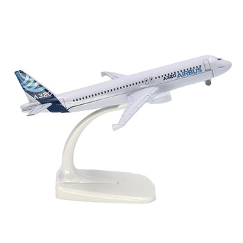 1/400 Scale Aircraft Airbus A320 Prototype 16cm Alloy Plane Model Toys Children Kids Gift for Collection цена 2017