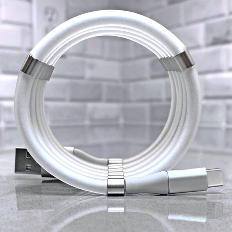 RDCY быстрой зарядки 2.4A Волшебные веревочки кабель автоматически Выдвижной usb type c зарядное устройство для Andriod samsung xiaomi huawei|Кабели для мобильных телефонов|   | АлиЭкспресс - Топ аксессуаров для смартфонов