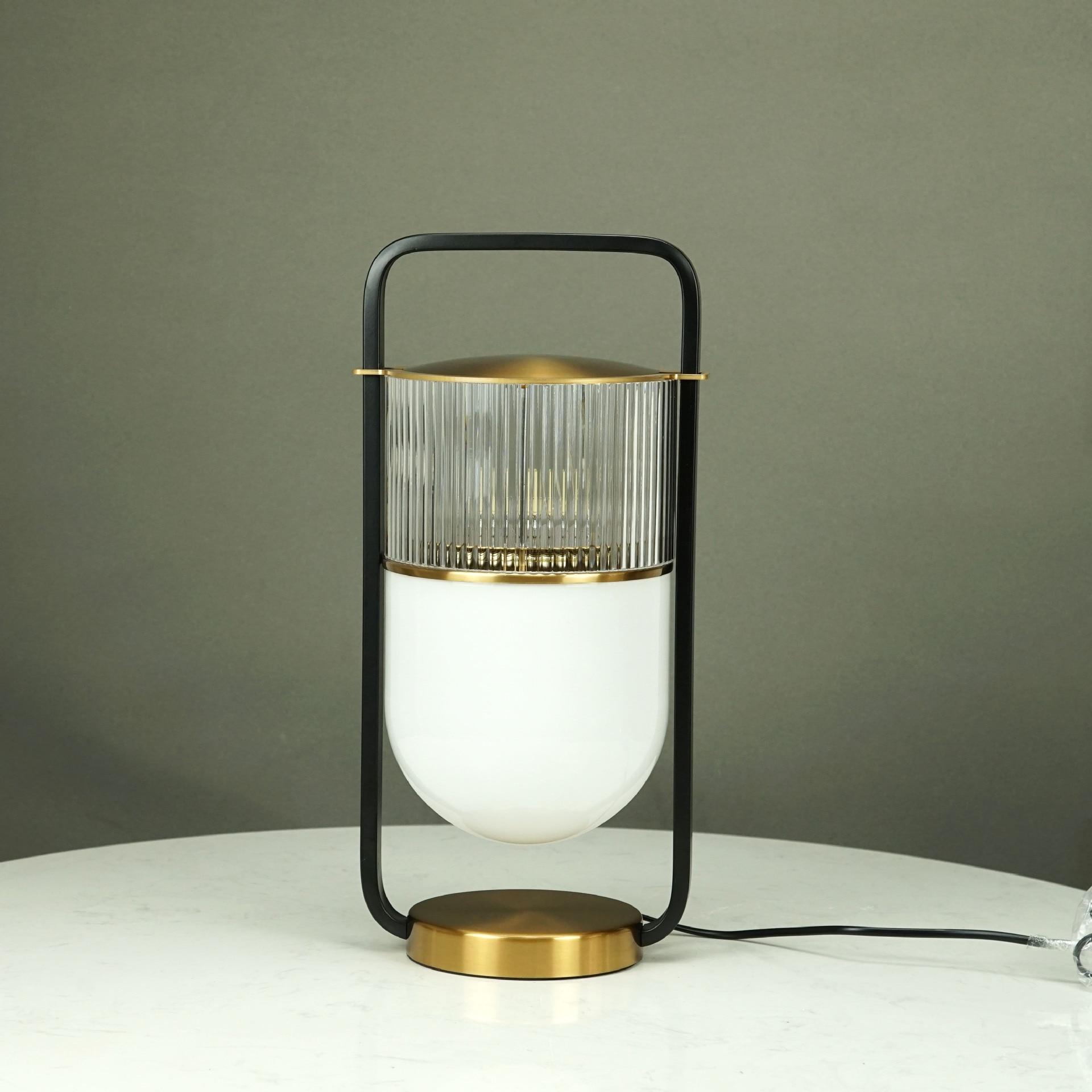Nordic Simple Personality Designer Metal Living Room Table Lamp New Chinese Lantern Modern Bedroom Bedside Table Lamp Led Table Lamps Aliexpress