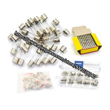 100pcs/lot Fuse 5*20 glass fuse fuse 250V 0.5A 1A 2A 3A 4A 5A 10A 15A