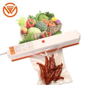 Image 1 - WOMSI מזון אוטם ואקום אריזה מכונה עם 15pcs שקיות משלוח ואקום מזון איטום מכונת ואקום אוטם פקר