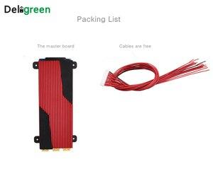 Image 4 - 13S 80A 100A 120A 150A 200A 250A 48V PCM PCB BMS עבור 3.7V LiNCM סוללות DIY18650 lithion סוללה חבילה עם balanceDeligreen