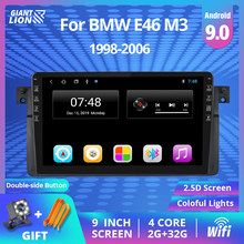 2DIN Android 9.0 Mobil Radio Multimedia Player untuk BMW E46 / M3 / 318i / 320i / 325i / 330/335 1998-2006 2DIN Navigasi GPS DVD(China)