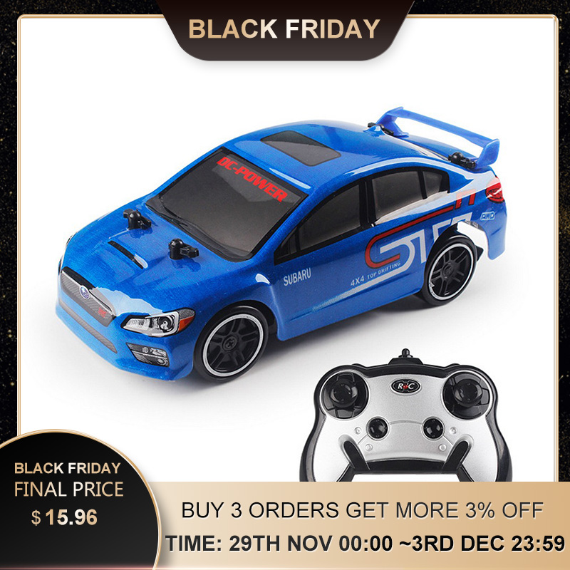 Remote Control Racing Car 30KM/H 2.4G 4WD RC Drift Speed Radio Control Off-Road Vehicle Toys For Children RC Car Gift