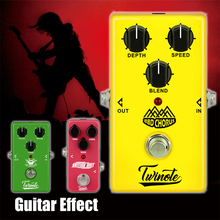 Twinote Pedal Guitar Effect Processsor Loop Distortion Delay Chorus Low Noise Overdrive High Gain Simulator Metal