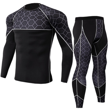 2017 new winter warm sport suit men running set outdoor jogging gym fitness sport suits basketball trainning clothes running set Men Clothing Set Men's Streetwear Workout Gym Fitness Compression Sports Suit Clothes Running Jogging Sport Wear Cycling suit