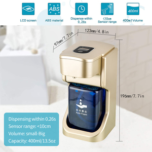 Image 2 - Automatic Foaming Soap Dispenser Touchless Soap Dispenser with Infrared Motion Sensor 14oz/400ml Volume Control Soap Pump 6 Type