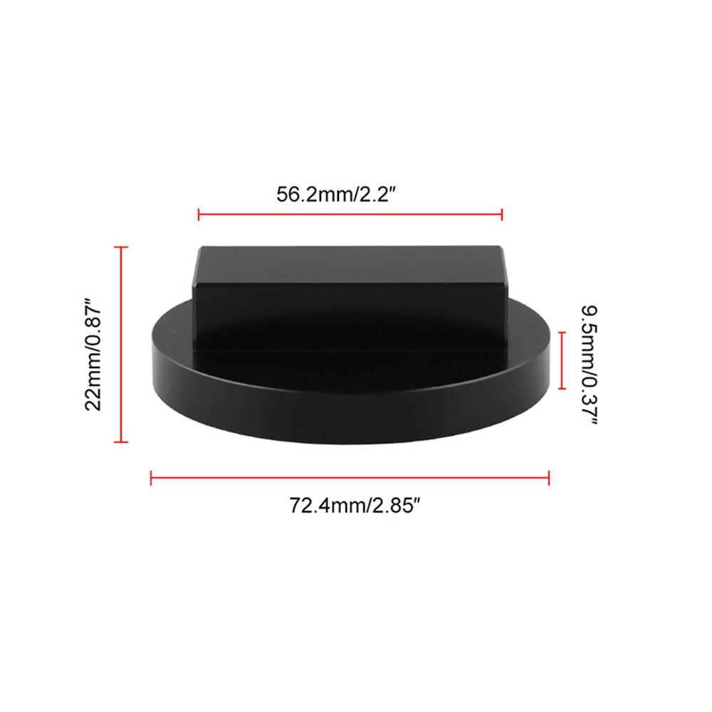 Jack Pad Adapter Billet Anodized Black Aluminum Floor OT338 For BMW E46 E90 E91