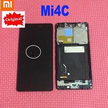 Năm 100% Ban Đầu Mới Thử Nghiệm Làm Việc Màn Hình Hiển Thị LCD Bộ Số Hóa Cảm Ứng Có Khung Cho Xiao Mi Mi 4C Mi 4C m4c Cảm Biến Phần