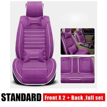 Universal Car Seat Covers for Mazda 3 6 CX-5 CX7 323 626 M2 M3 M6 Axela ATENZA Familia Auto Accessories Car Styling 3D Black
