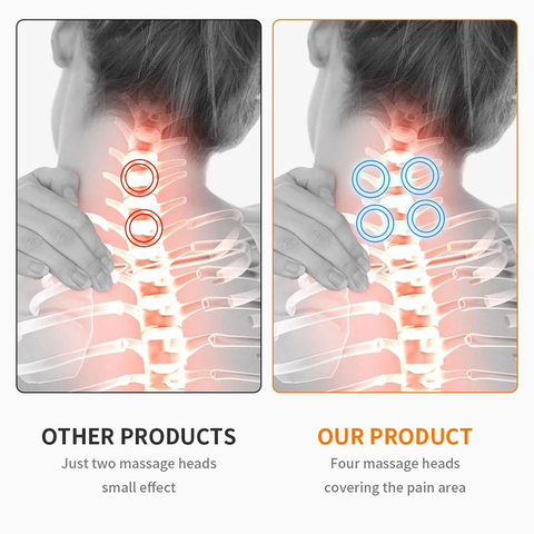 massager recarregavel do pescoco pulso para