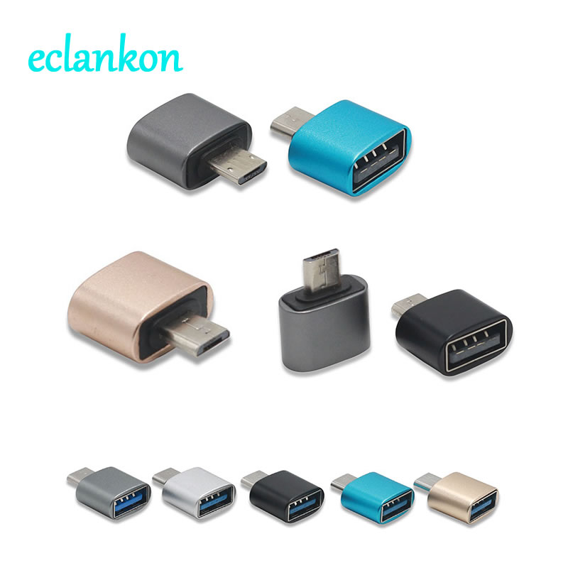 Aluminum Micro USB OTG Adapter Male To USB 2.0 Female Connector For Samsung Xiaomi Huawei Android Microusb OTG Converter Adaptor