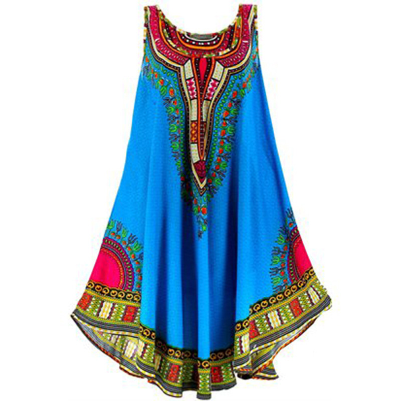 African Clothes Dresses For Women Fashion Dashiki Dress Vetement Femme Robe Africaine 3d Africa Clothing