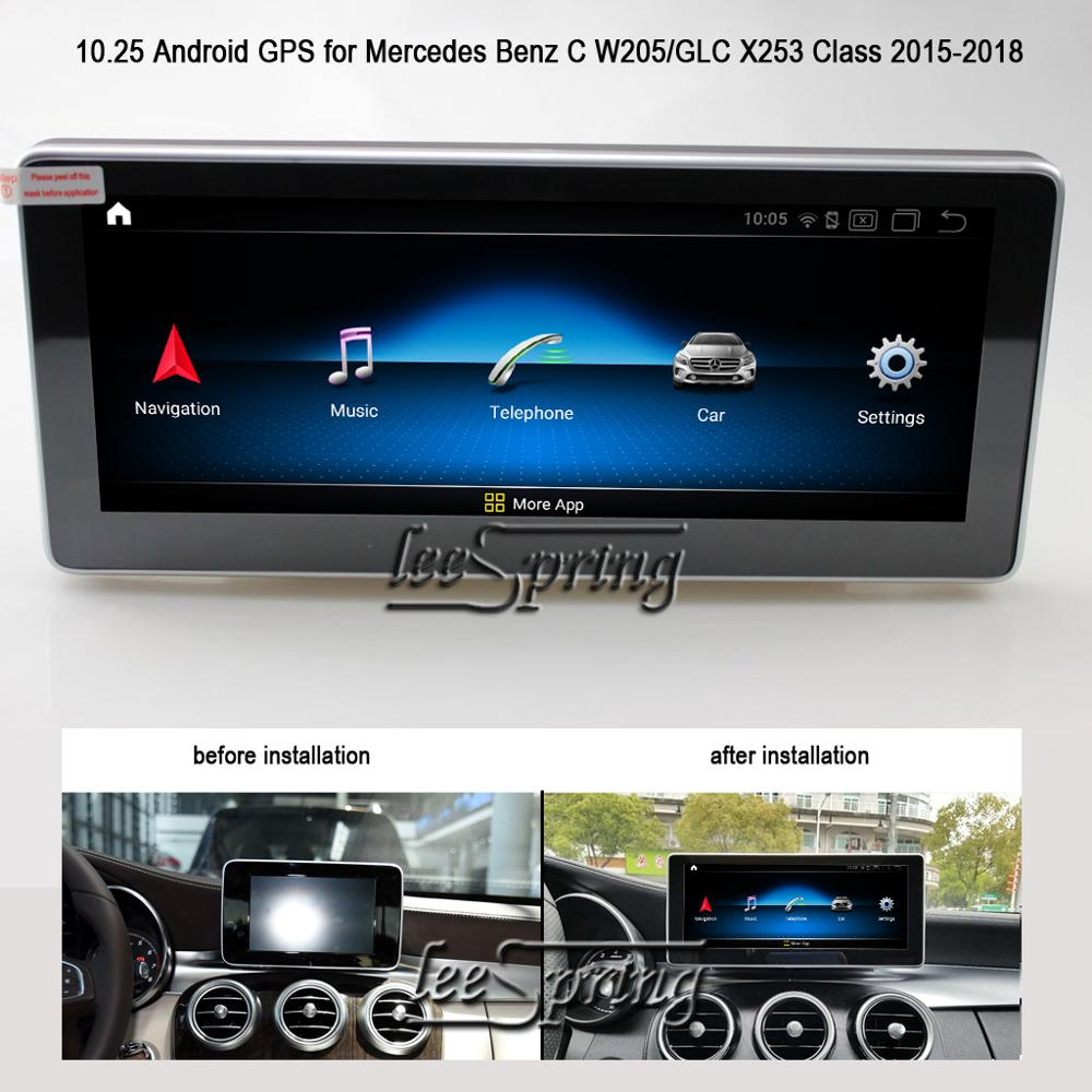 10 25 inch Android 9 0 Touch Screen Car Multimedia Player