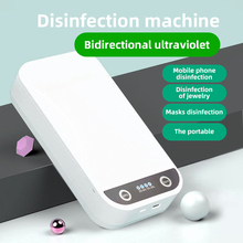 Watch Sterilizer Digital Phone Ce with Display Earring-Ring Jewelry Facemask Ultraviolet