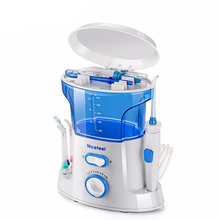 Irrigatore orale waterpik Flosser per acqua dentale detergente elettrico igiene orale acqua Flossing 600ml dente Pick getto dacqua