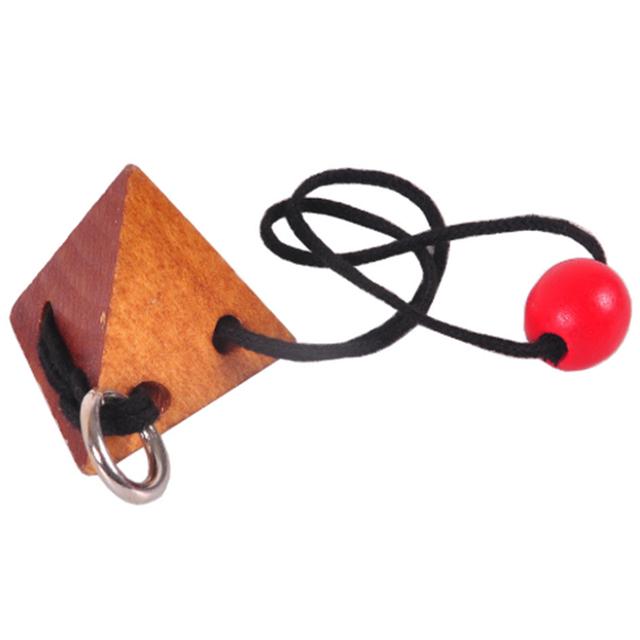 Gorąca lina drewniana łamigłówka logiczna inteligentna łamigłówka gra łamigłówki dla dorosłych dzieci tanie i dobre opinie LAIMALA Unisex 8-11 lat 5-7 lat Dorośli 12-15 lat 6 lat 8 lat Drewna Spersonalizowane układanki Geometryczny kształt
