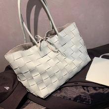 Новые тканые сумки ручной работы женские большие вместительные