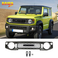 BAWA Car Front Grill Grille Honeycomb Mesh Cover Racing Grills Accessories for Suzuki Jimny 2019 2020