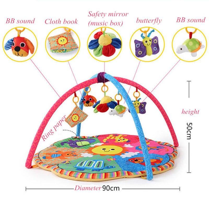 Jouet bébé tapis de Gym tapis de jeu tapis Musical enfants Caterpillar tapis d'activité bébé pour enfants jouet éducatif loisirs - 4