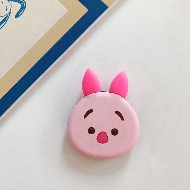 Розовый Свинья Силиконовый Многофункциональный держатель телефона складной кронштейн для мобильного телефона и небольшого стола