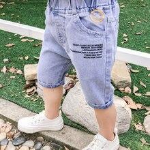 Short-Pants Clothing Trousers Elastic-Waist Baby-Boys Kids Fashion Children Summer Denim