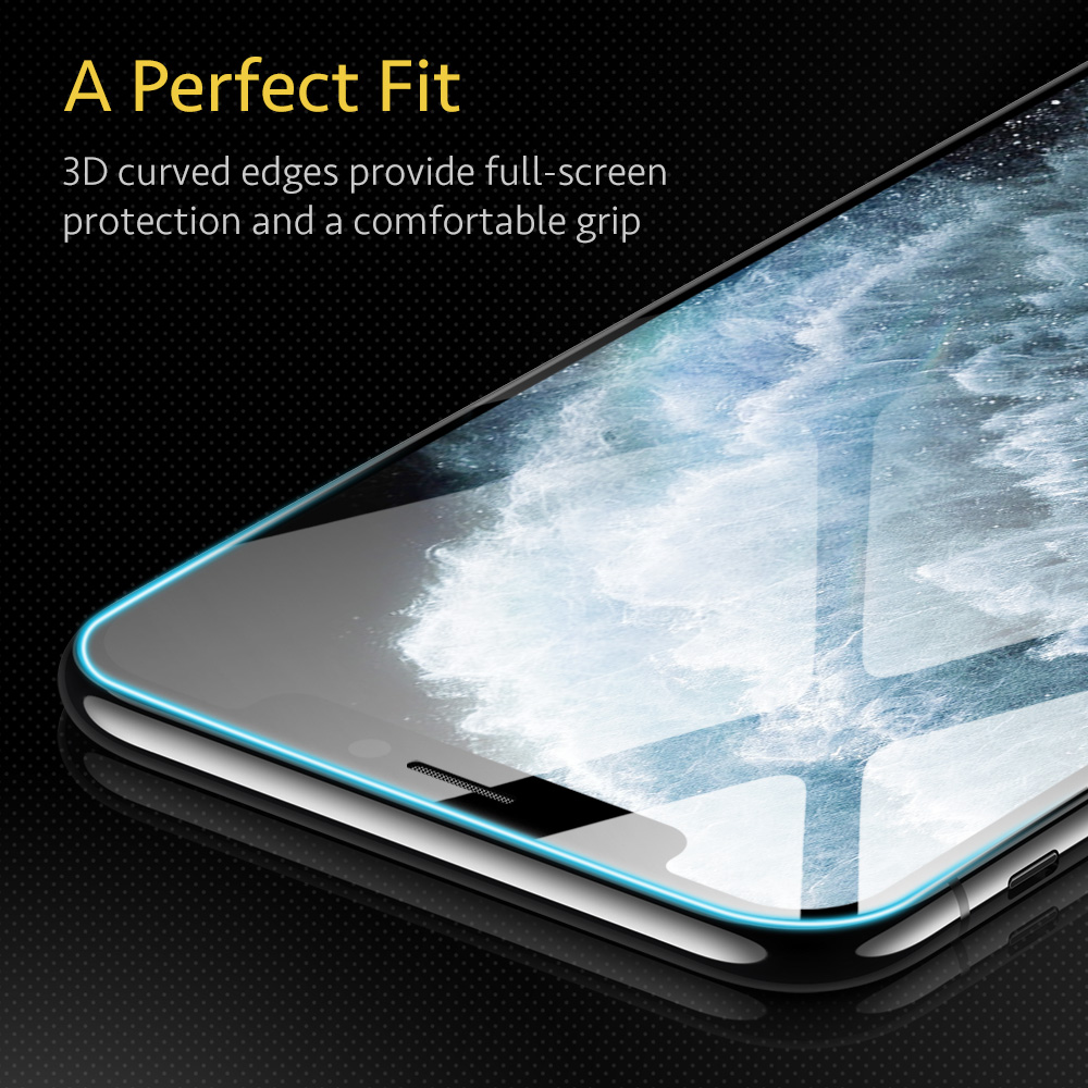 Premium ESR Clear Tempered Glass Screen Protector for iPhone 11 Pro Max 4