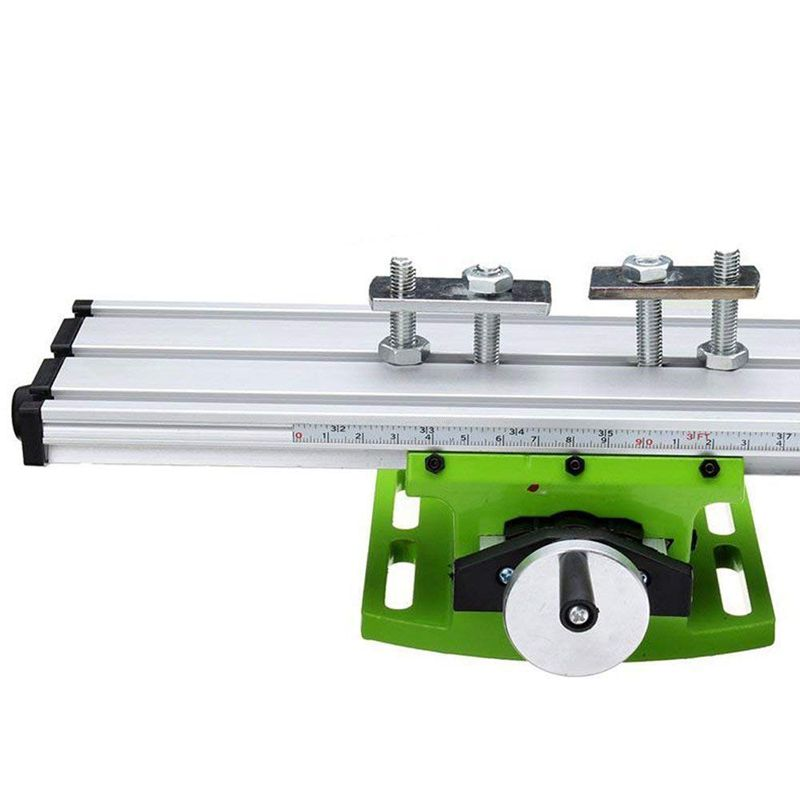 Купить с кэшбэком Xzante Tools Bg630 Multifunction Worktable Milling Working Table Milling Machine Compound Drilling Slide Table For Bench Drill