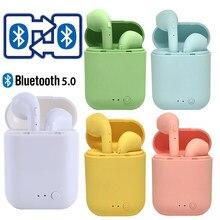 Yeni Mini 2 TWS kablosuz kulaklık Bluetooth 5.0 kulaklık spor kulaklık kulaklık için Mic ile iPhone Xiaomi Samsung Huawei telefon