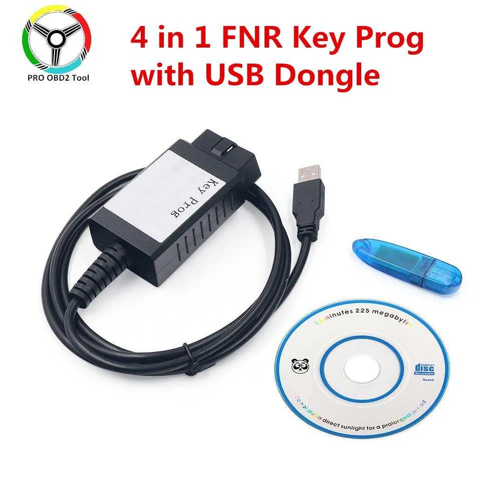 Лучший Автомобильный ключ программатор FNR 4 в 1 FNR Key Prog 4-в-1 с USB-адаптером FNR 4-в-1 Автомобильный ключ Prog