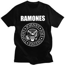 T-Shirt Graphic Ramone-Seal Forest-Hills Punk-Rock Women's Unisex Album FGHFG 1st