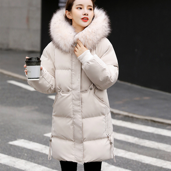 Fashion winter woman 2020 jacket, new Korean version of cotton-padded jacket, women's winter jacket, thickening repair coat 2017 new winter in the european version of the long thickening of cotton men s jacket to increase the size of hood slim