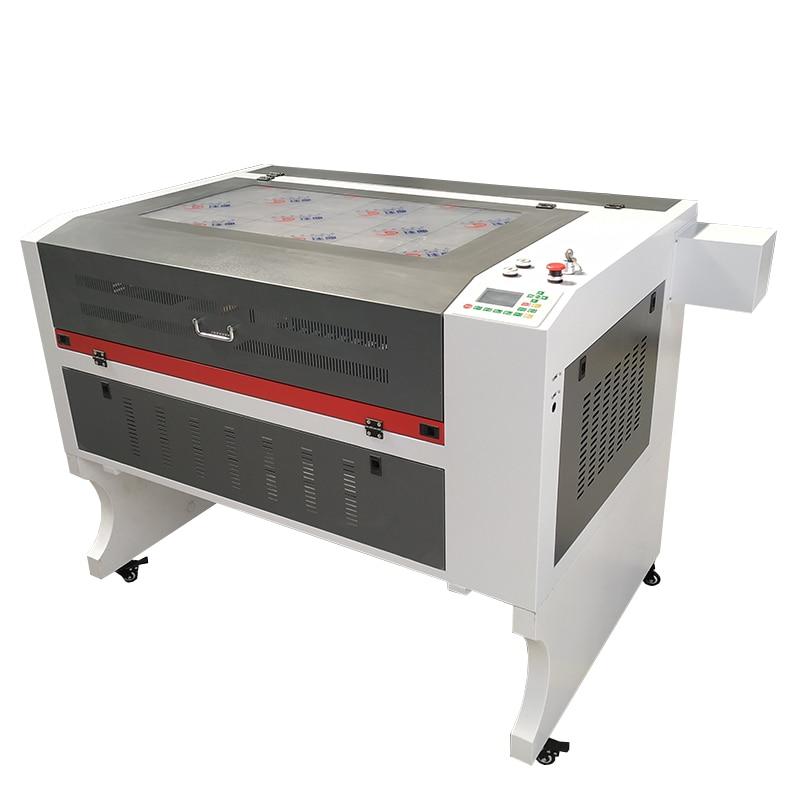 6090 Laser Engraving Cutting Machine 100W 130W Reci Laser Tube Ruida Controller For Wood Acrylic PVC Cutting Engraving Marking